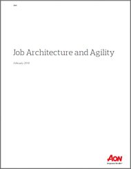 Job Architecture and Agility